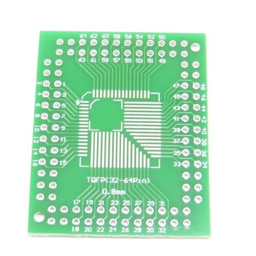 Black Pins Plate SO TSSOP MSOP SOT QFP SOP to DIP PCB Adapter Board Converter