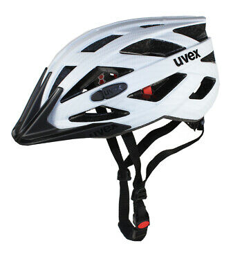 Uvex I-vo Cc Casco Bicicletta White Carbon Look Mat Ruota Bicicletta Bike Casco Mtb City-