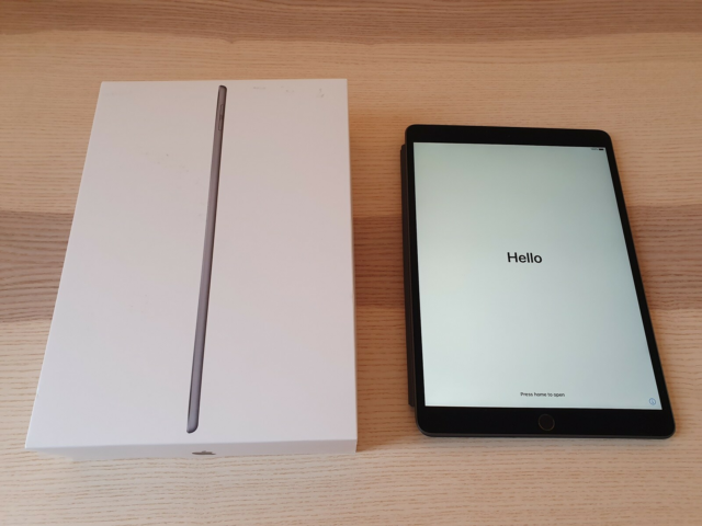 iPad Air 3, 64 GB, sort, Perfekt, Ipad Air 2019 med 64 GB…