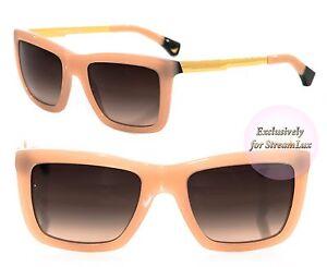 c378f5fbcc96 EMPORIO ARMANI Pink Square Sunglasses EA 4017 5087 13 3N Blush Rose ...