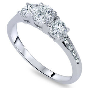 tw diamond round cut ct white rings jewellery pin gold ring engagement