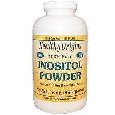 Inositolo In Polvere - 100% Puro - 454g da sano ORIGINS-cervello umore & Sostegno