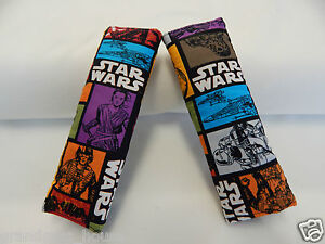 Star Wars Seat Belt Covers Child Car Seat Highchair Stroller Pram 1 Pair