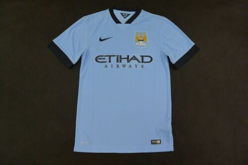 Nike Manchester City Home Shirt 2014 2015 SIZE S adults