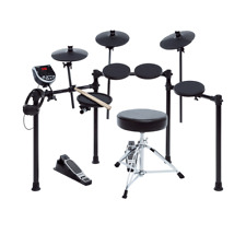 Alesis Burst Electronic Drum Set with DM6 Module + Throne, Sticks + Headphones