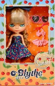 New-Takara-Tomy-Neo-Blythe-Shop-Limited-Doll-Charry-Beach-Sunset-From-Japan