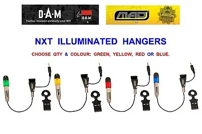 illuminated color blue hanger mad nxt