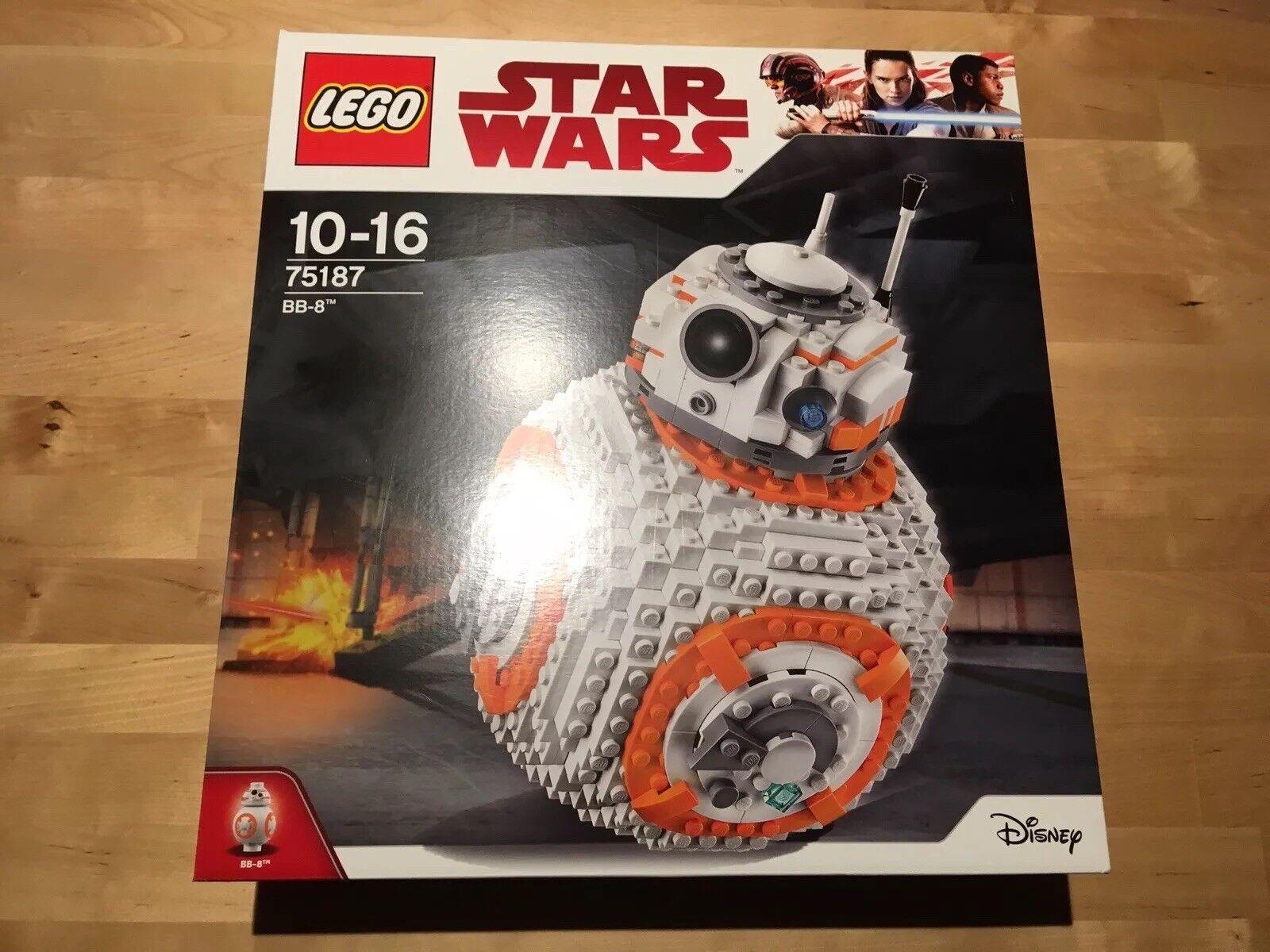 Lego Star Wars 75187-BB-8. Neuf, Scellé.