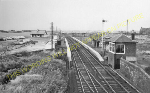 Saltcoats Bogside Racecourse Railway Station Photo 1 Irvine GSWR.