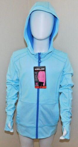 Kirkland Signature Girls Full Zip Active Hoodie 4 colours 4 sizes fantastic BNWT