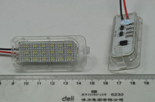 2x Bright LED SMD License number Plate Lights For Ford Mondeo Mk4 Mk5 2007-2017