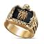 Men-039-s-Buffalo-925-Silver-Animal-Band-Ring-Women-Wedding-Party-Jewelry-Size-6-13 thumbnail 30