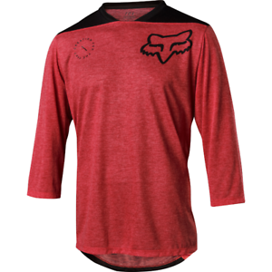 Fox Racing 2018  Indicator 3 4 ASYM Jersey Dark Red  free delivery