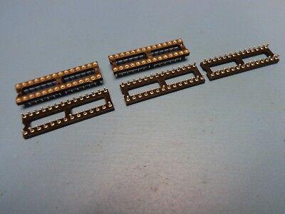 5 MM 115-93-316-41-003000 16 pin DIP 300mil tin lead Open Frame LOW PRO Socket