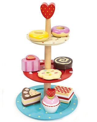 LE TOY VAN Holzauto KUCHEN ETAGERE  - Le Toy Van 3-TRIER CAKE STAND