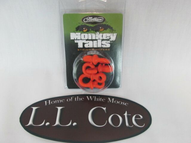 Mathews Monkey Tail String Dampers Orange 80570 Pack of 4 No Bow Press  Needed