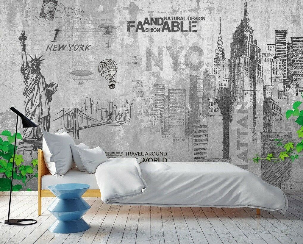 3D World Landscape 45 Wall Paper Exclusive MXY Wallpaper Mural Decal Indoor wall
