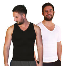 Tone Tee Mens Compression Shapewear T-Shirt & Vest (As Seen on High Street TV)