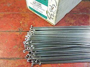 DT SWISS CHAMPION Silver Spokes 1.8mm 15 g.*Any Quantity**Custom Cut Length* New