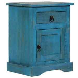 Bois Sur Table Détails Manguier Bleu Vidaxl Chambre Massif À Coucher De Chevet Nuit QBoedrCxW