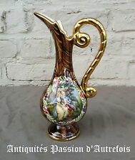B20140801 - Vase en céramique H.Bequet - Quaregnon Belgique - 24 cm de hauteur