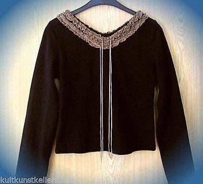 100% QualitäT ● Sinnlich Schönes Langarm Shirt Ma Gothic Ole M Wie Neu