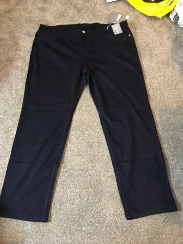 Per Una Roma Rise Indigo Straight Jeans Size 28 Reg Bnwt Free Sameday Postage