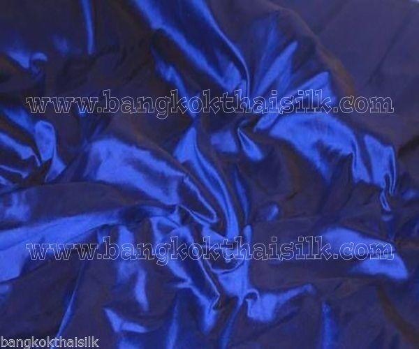 ULTRAMARINE BLUE 100% PURE SILK FABRIC for Wedding Dress Drape Bridesmaid BTY