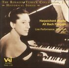 The Rosalyn Tureck Collection, Vol. 4: Harpsichord Recital All Bach Program (CD, Jul-1997, VAI Audio)
