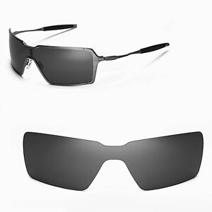 6eacf660ff8 Image is loading New-WL-Polarized-Black-Replacement-Lenses-For-Oakley-
