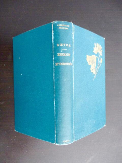 Goethe - Hermann et Dorothée - Illustrations de Marold - Dentu 1892