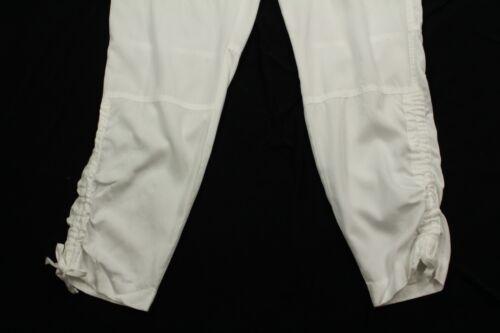 Bianco Retail 10 Coulisse Lauren Attillati Donna Pantaloni Ralph Taglia Calli wPn0kO8