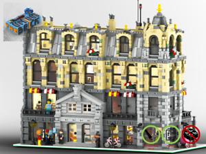 Modular-Rathaus-MOC-PDF-Bauanleitung-kompatibel-mit-LEGO-Steine
