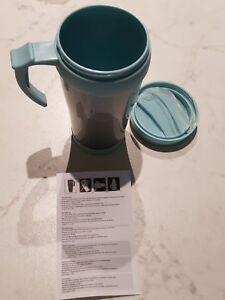 300ml-Thermos-vacuum-tazza-bottiglia-termica-bicchiere-caffe-viaggio-ufficio-blu