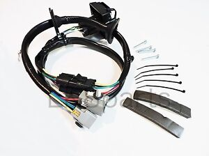 land rover lr4 tow hitch trailer wiring wire harness kit lr4 10 12 image is loading land rover lr4 tow hitch trailer wiring wire