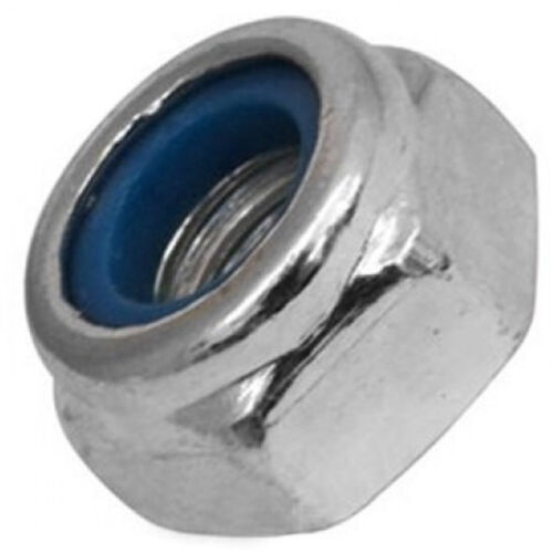 8mm Stainless Steel SS 304 A2 70 Lock Insert Qty 20 Hex Nyloc Nut M8
