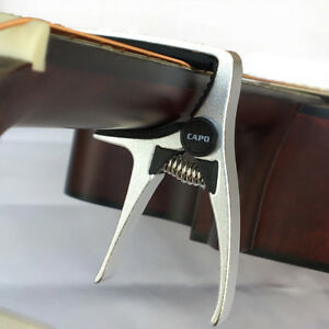 Change-Key-Capo-Clamp-for-Acoustic-Classical-Guitar-Quick-Trigger-Release-HOT