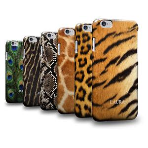Personalised-Name-Animal-Fur-Skin-Pattern-Hulle-Case-Cover-Etui-Fur-Samsung