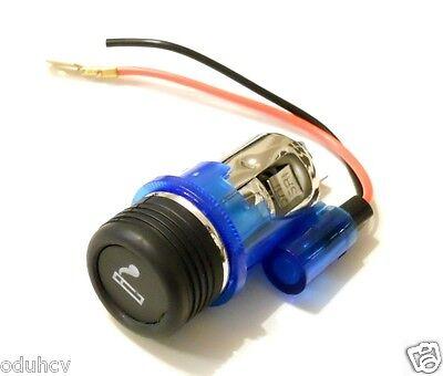 BLUE CIGARETTE LIGHTER FOR PEUGEOT 106 206 306 406 309 PLUG & SOCKET