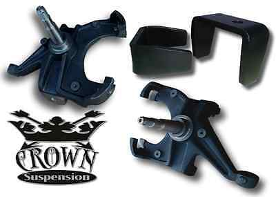"3"" Lowering Spindles 5"" Rear Flip Kit Drop Kit 1.25 Rotors Fits 1973-1987 C10"