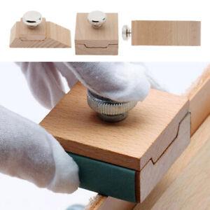 Holzschleifpapier-Schleifblock-DIY-Leder-Bastelzubehoer