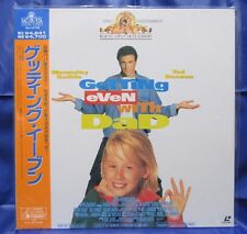 GETTING EVEN WITH DAD:Macaulay Culkin - Japanese original Vintage LASER DISC