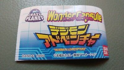 BANDAI Digimon Adventure 02 Wonder Capsule Mini D-3 Digivice Figure Gashapon