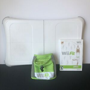 Nintendo Wii Fit Game W Balance Board Bundle/ Plus Accessories