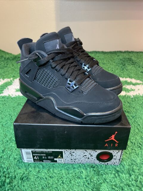 Nike Air Jordan 4 Retro GS Color Black Cat 2020 Size 7y 408452-010