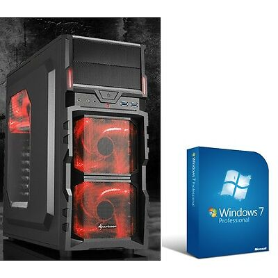 PC complet Système Intel i7 4790 16GB RAM 1000 GO GTX 950 Win7 Gamer Ordinateur