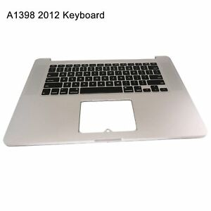 New-Top-Case-keyboard-US-for-Macbook-Pro-15-034-A1398-Retina-mid-2012-Early-2013