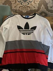 Cooperativa Más allá África  Adidas Sudadera 3xl Vieja Escuela | eBay