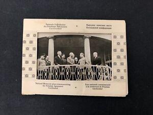 Vtg East Germany (DDR) Lot of 10 Postcards Potsdam Agreement Memorial WW2