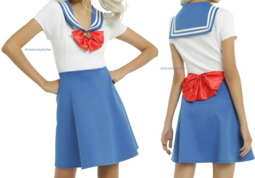 SAILOR MOON OFFICIALLY LICENSED COSTUME COSPLAY DRESS FOR JUNIORS FREE SHIP